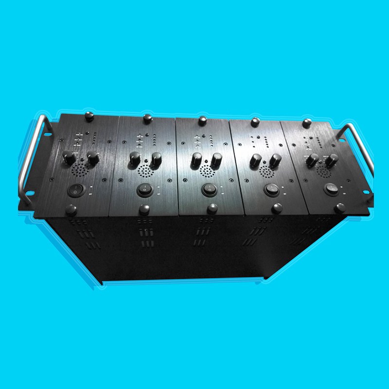 PA5300  5channel 300W/100V/channel 5unit in one case