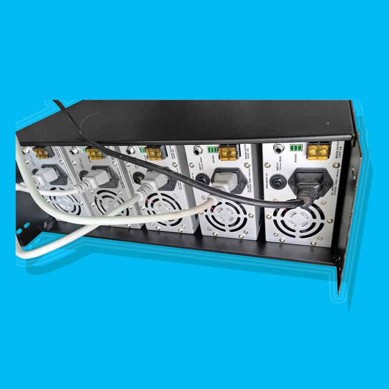 PA5500 5通道500W 100V定压数字放大器阵列